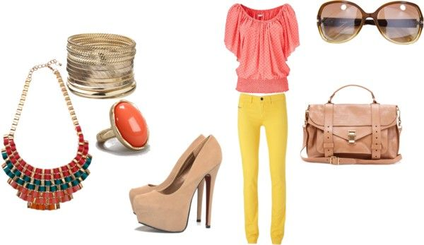 """""""Summer sunset"""" by sonjakness on Polyvore"""
