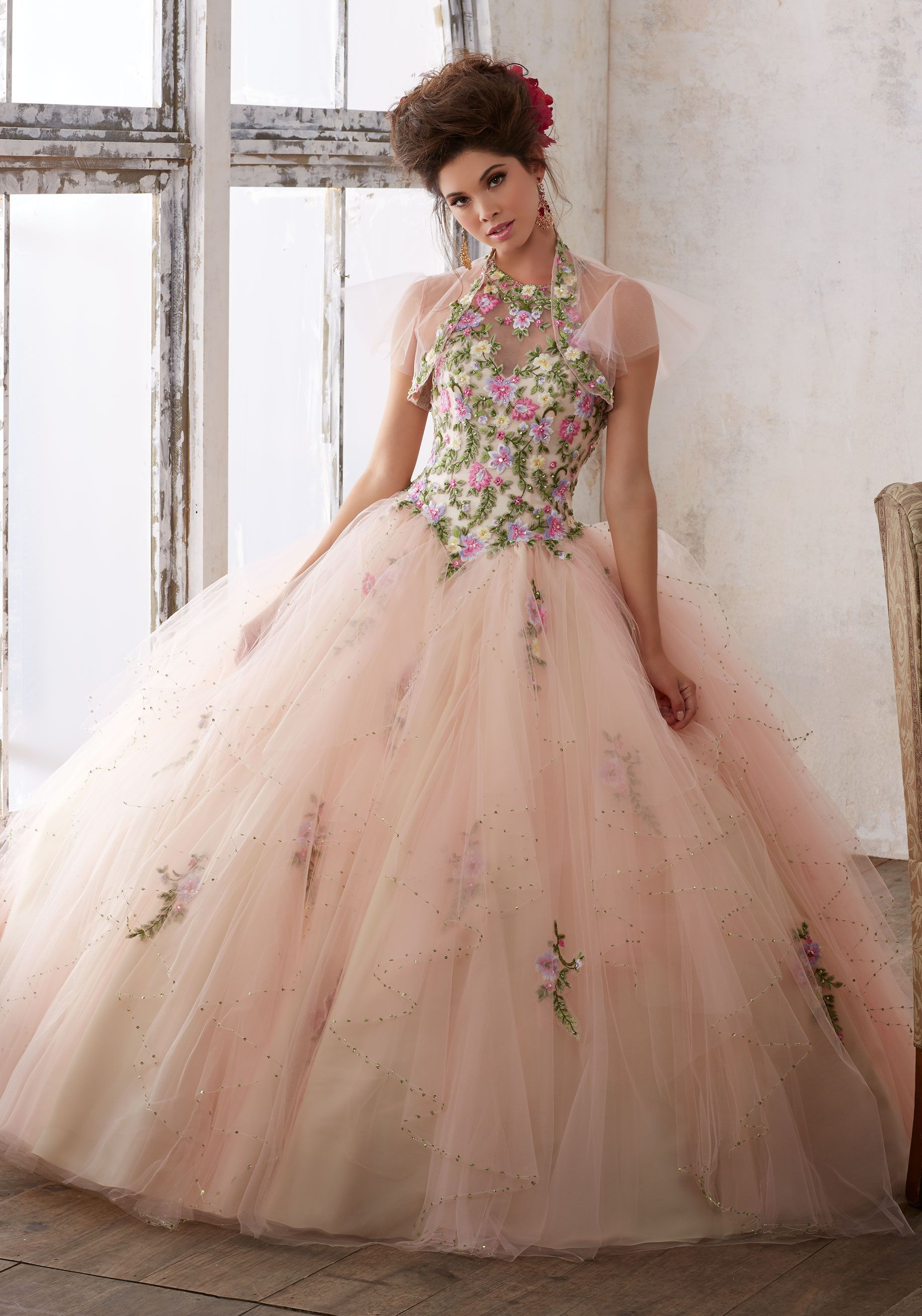 Morilee Quinceanera Dresses STYLE NUMBER: 89124 Embroidery ...