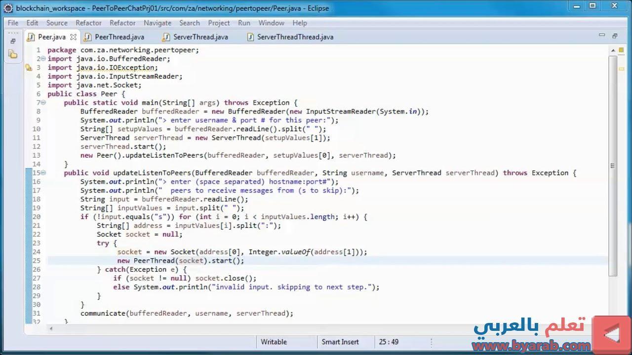 Peer To Peer P2p Chat W Java Peer Blockchain Chat