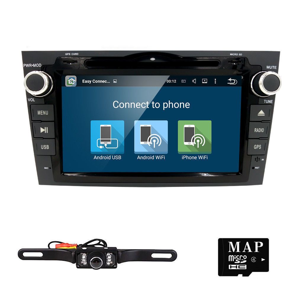 Car DVD GPS Radio Stereo WIFI Android 5 1 Quad Core HD For