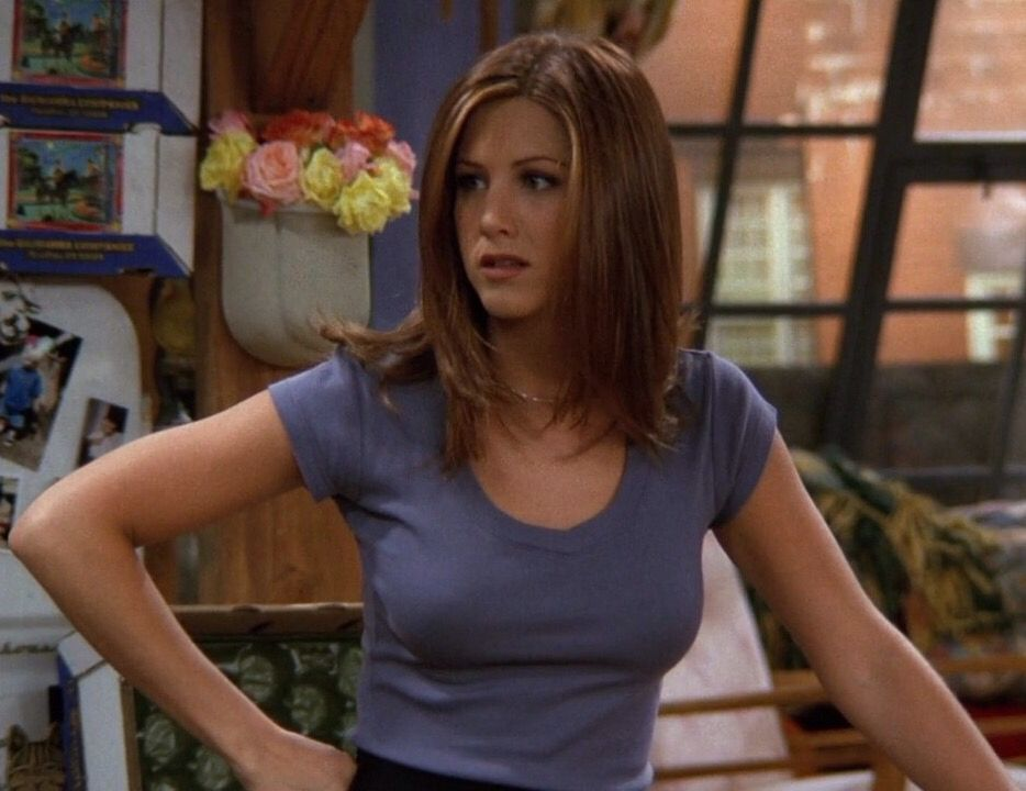Jennifer Aniston as Rachel Green on Friends | Hair in 2019