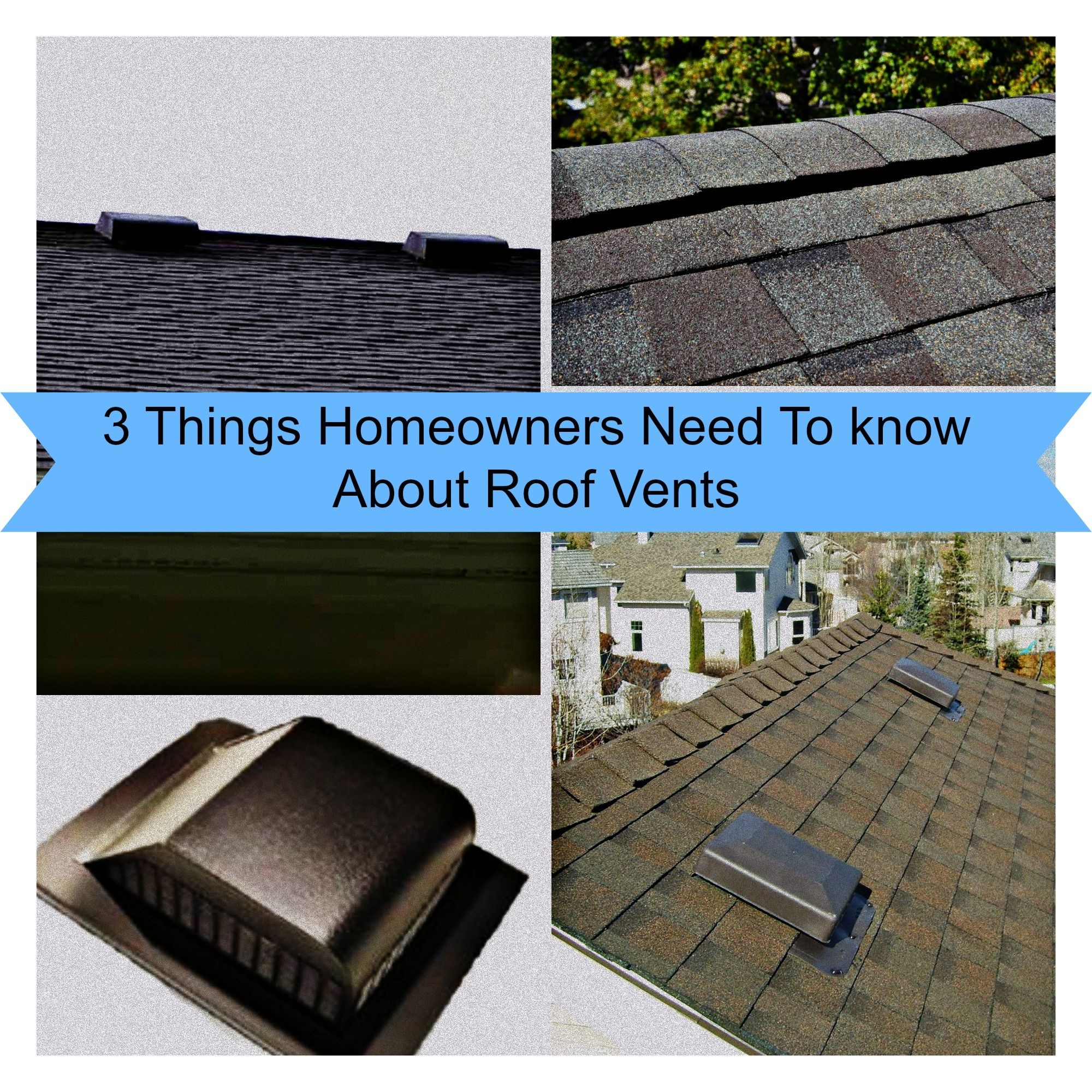 3 Things Homeowners Need To Know About Roof Vents The Roof Wizard Roof Roof Vents Cool Roof