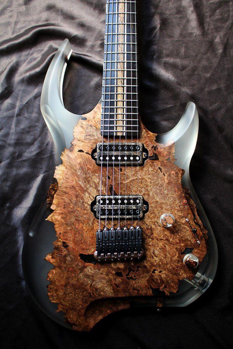 Une Magnifique Creation De Chez Stone Wolf Guitars Retrouvez Des Cours De Guitare D Un Nouveau Genre Sur Mymusi Custom Electric Guitars Electric Guitar Guitar