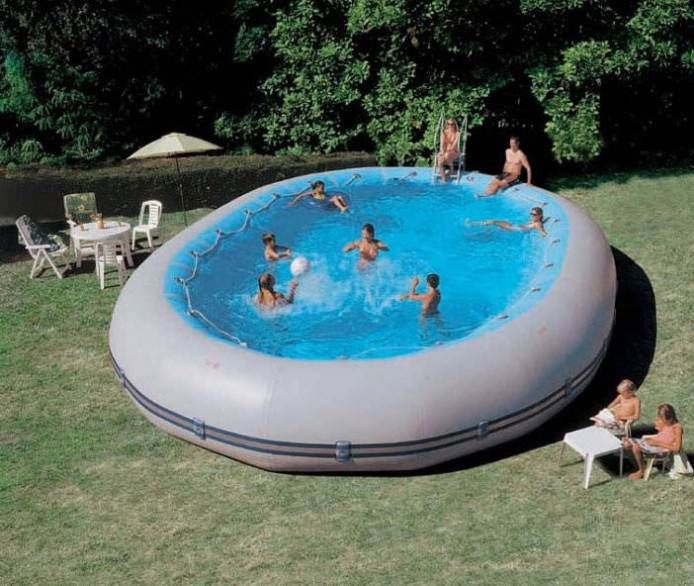 Why Above Ground Pools With Decks Are So Hype Above Ground Swimming Pools Swimming Pools Plastic Swimming Pool