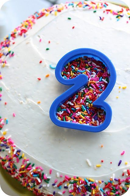 Simple Homemade Birthday Cake