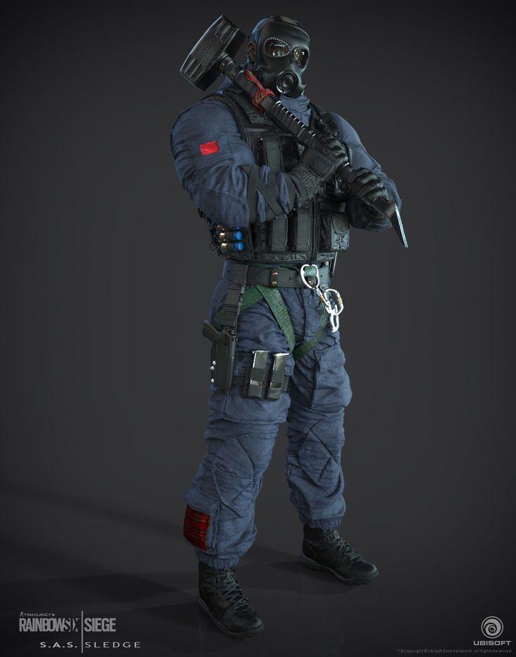 Rainbow Six Siege Characters Buck Displate Artwork By Artist