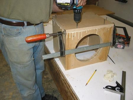 How To Build A Sub Box >> How To Build A Subwoofer Box Sub Box Subwoofer Enclosure