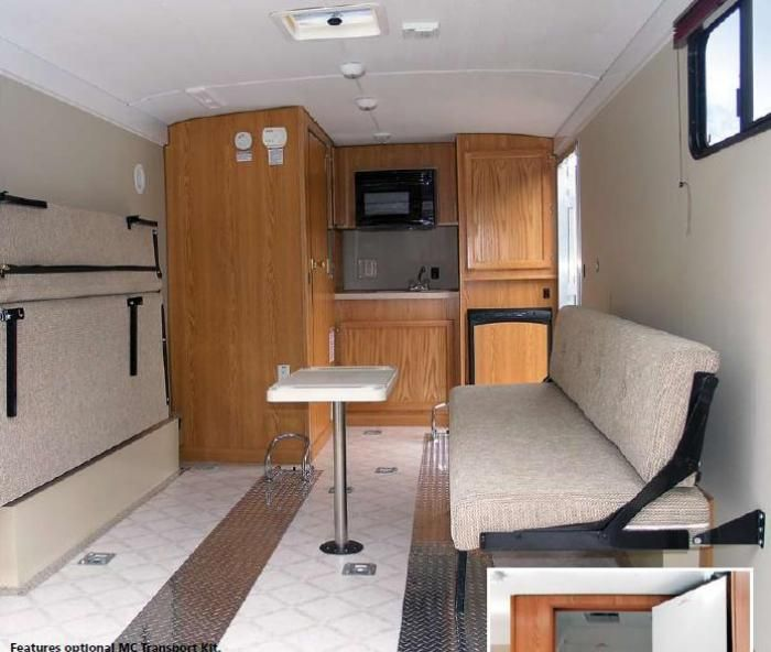 2004 Wells Cargo Get Away Ga 20 Pictures Listing Id 12174 Rv Clearinghouse Cargo Trailers Cargo Trailer Camper Cargo Trailer Conversion