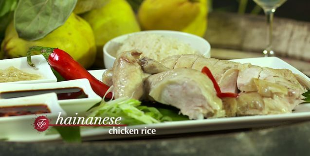 Hainan chicken rice martin yan asian food channel asian food hainan chicken rice martin yan asian food channel forumfinder Image collections