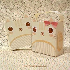 Printable Cat Gift Box | DIY Love Box Inspirations | Cats III ...