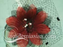 Resultado de imagen de flores de tela