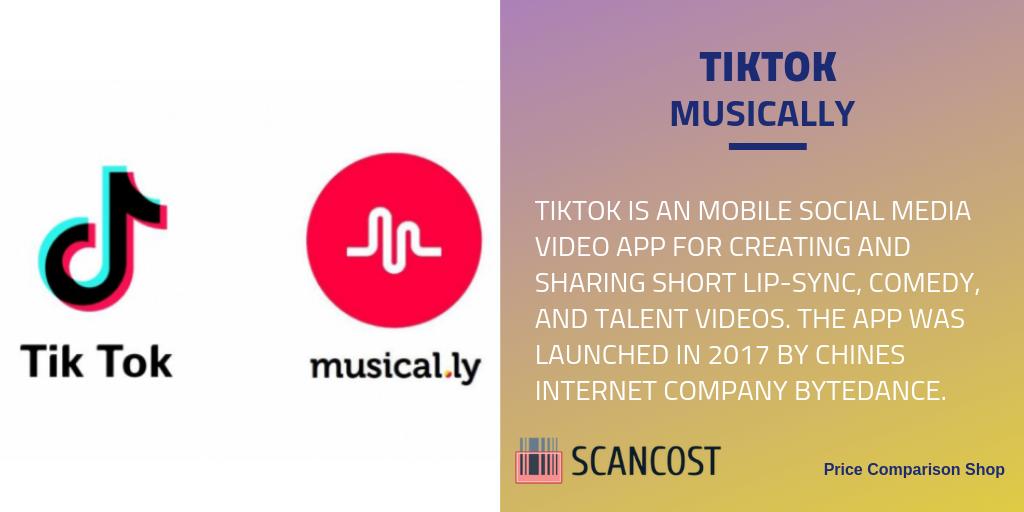What Is Tiktok Video App Social Media Video Lip Sync