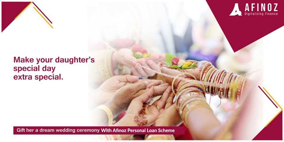 Afinoz Personal Loan Personal Loans Wedding Expenses Loan