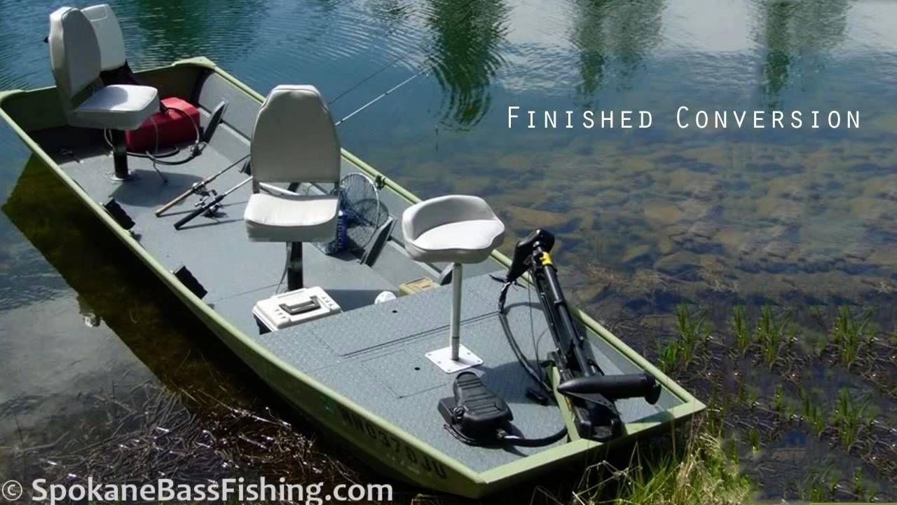 Hd Jon Boat To Bass Boat Conversion Modification Project