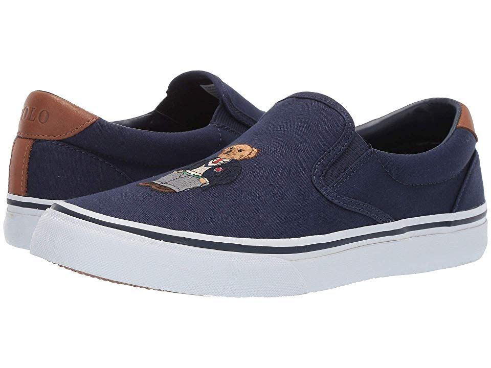 346f04d9 Polo Ralph Lauren Thompson III Men's Shoes Newport Navy | Products ...