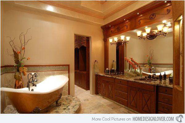 15 Ultimate Luxurious Romantic Bathroom Designs ...