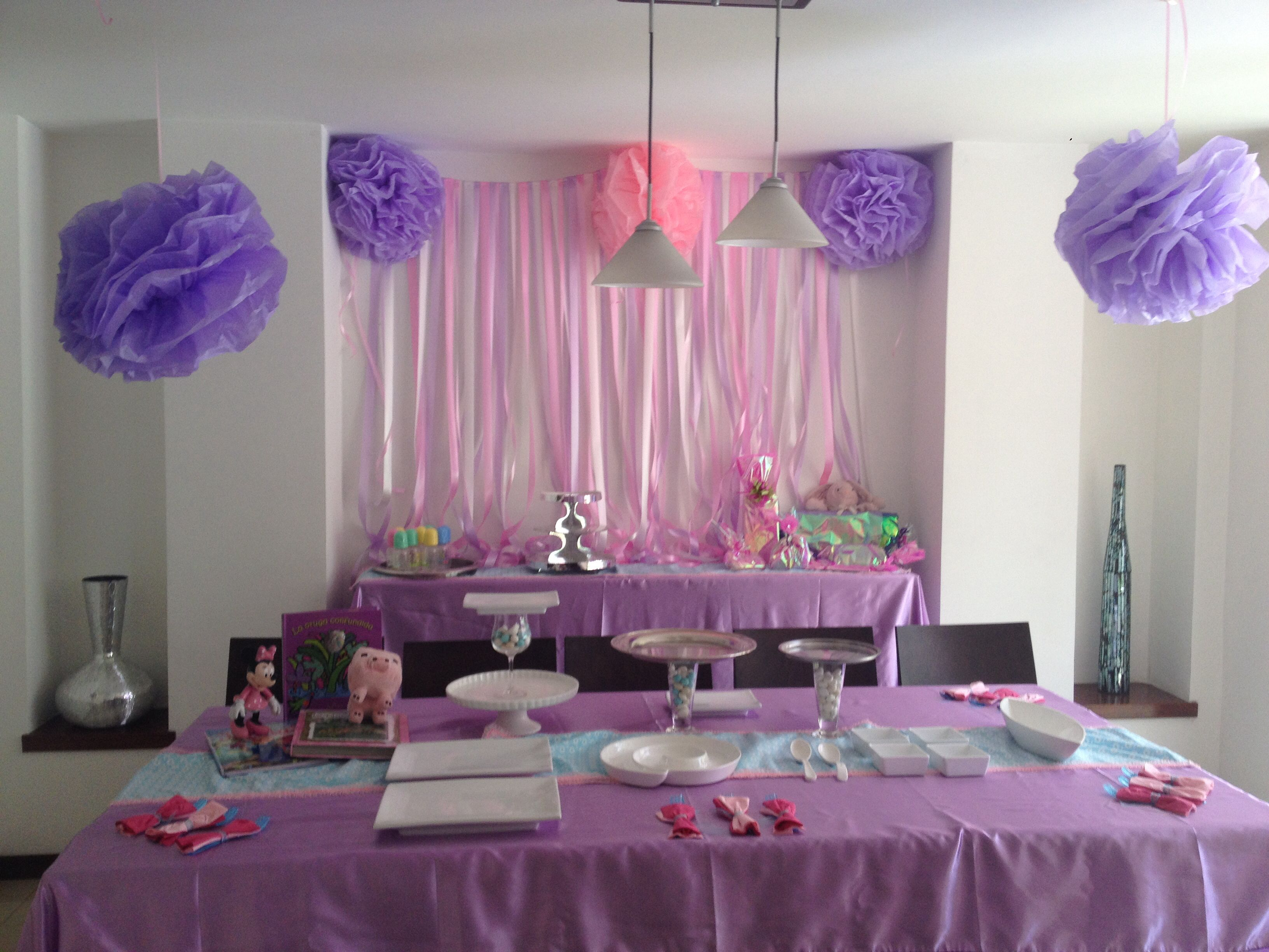 Decoraci n para baby shower muy f cil de hacer fiestas - Baby shower decoracion ...