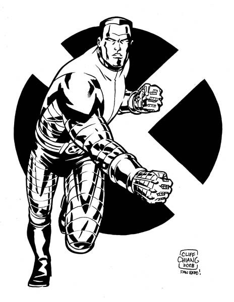 Colossus - Cliff Chiang   Colossus   Pinterest