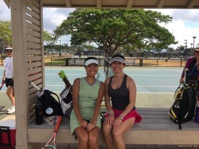 さとうあつこのハワイ不動産: HTLホノルルテニスリーグ
