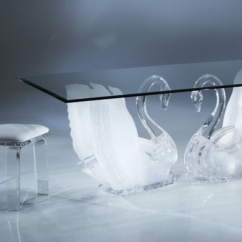 Legend Swan Dining Table Acrylic Coffee Tables Acrylic Furniture Acrylic Furniture Acrylic Coffee Table Acrylic Furniture Decor [ 1024 x 1024 Pixel ]