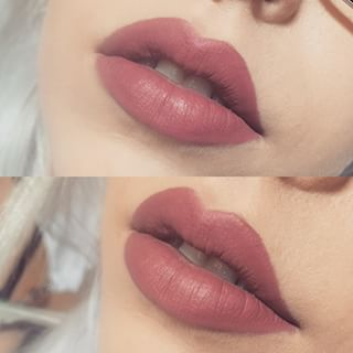 Essence lipliner in \'05 Soft Berry is a close dupe to Kat Von D ...