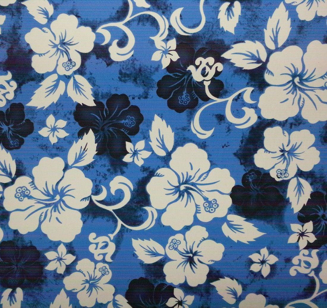 Hawaiian Print Seat Covers Kona Blue