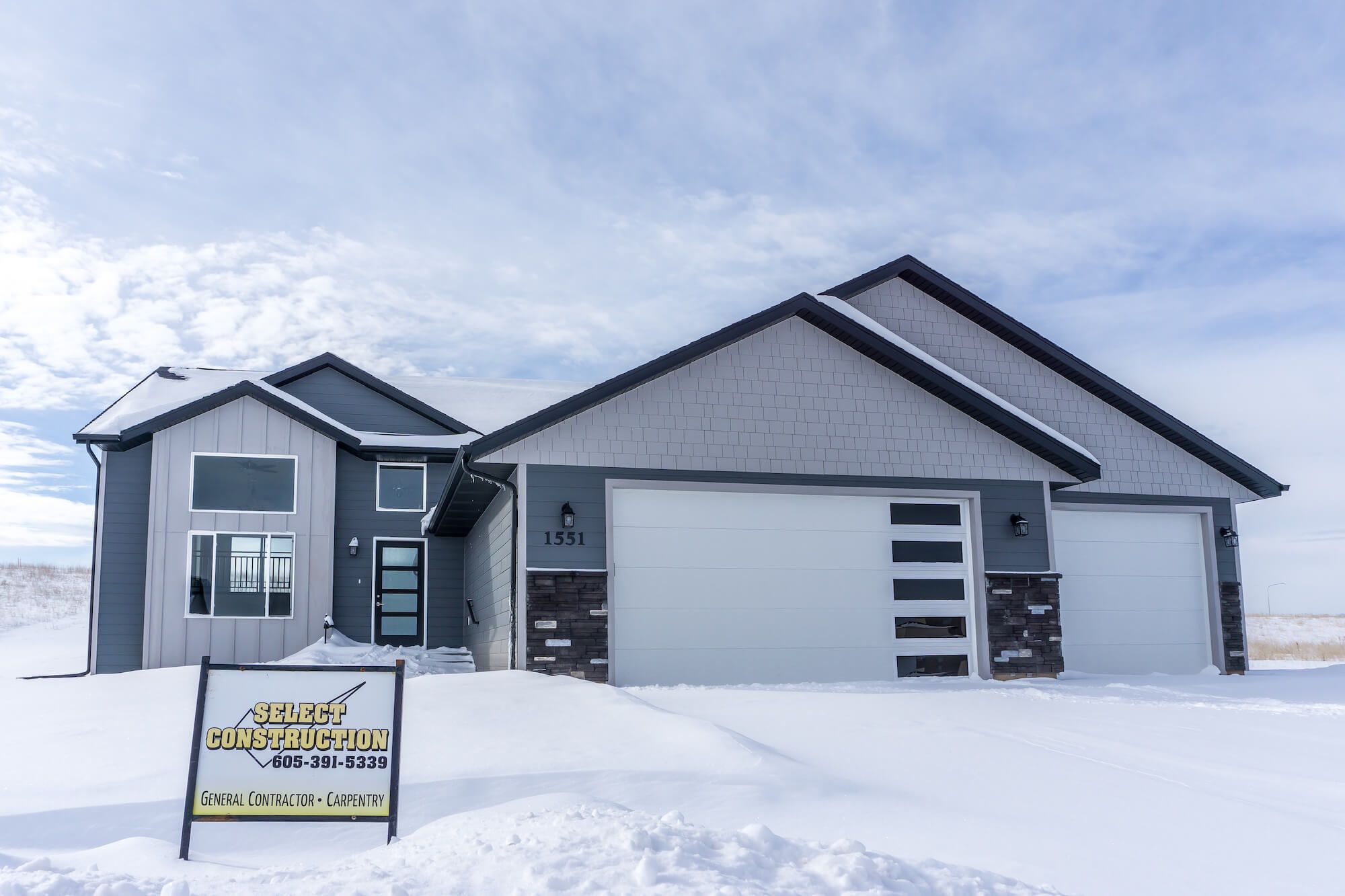 New Home By Select Construction Of Rapid City Sd With
