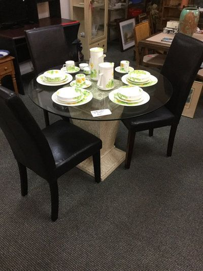 Letgo   Dining Table With 3 Chairs In Laguna Woods, CA