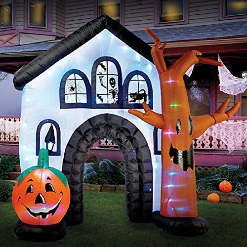 HALLOWEEN INFLATABLE - Very big and perfect for the front yard - halloween inflatable decorations