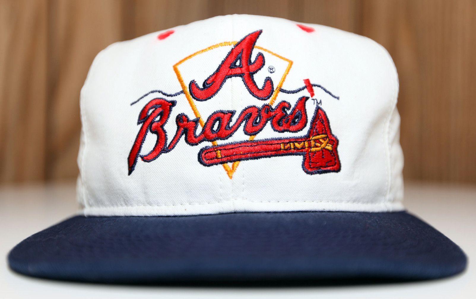 Sonny Buffalo Baseball Outfit Atlanta Braves Hats Vintage