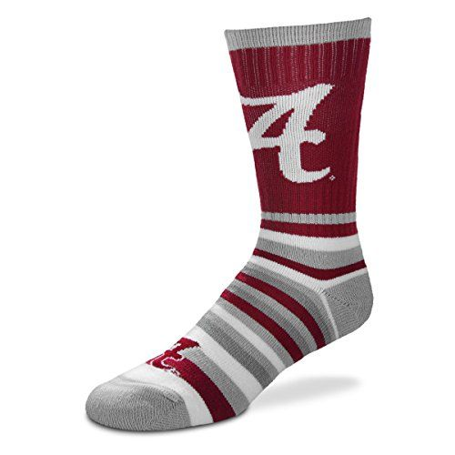 For Bare Feet NCAA Mens Mens Crew Socks