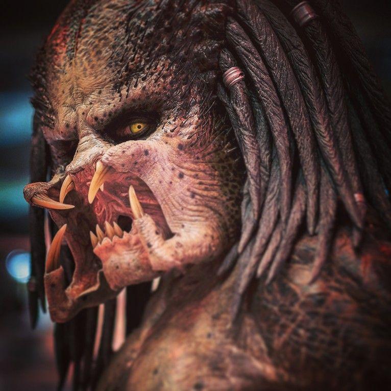 Fugitive Predator from 'the PREDATOR' 2018 film.