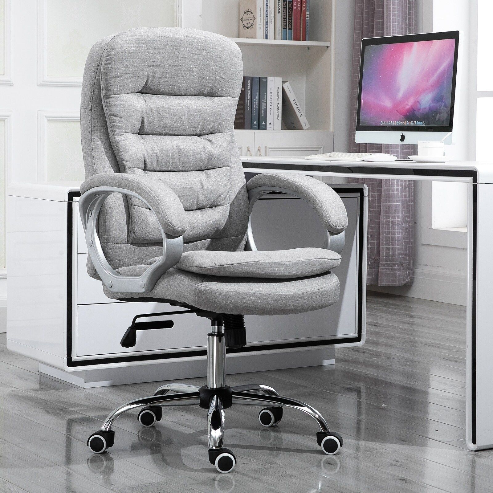 Vinsetto Adjustable Height Ergonomic High Back Home Office