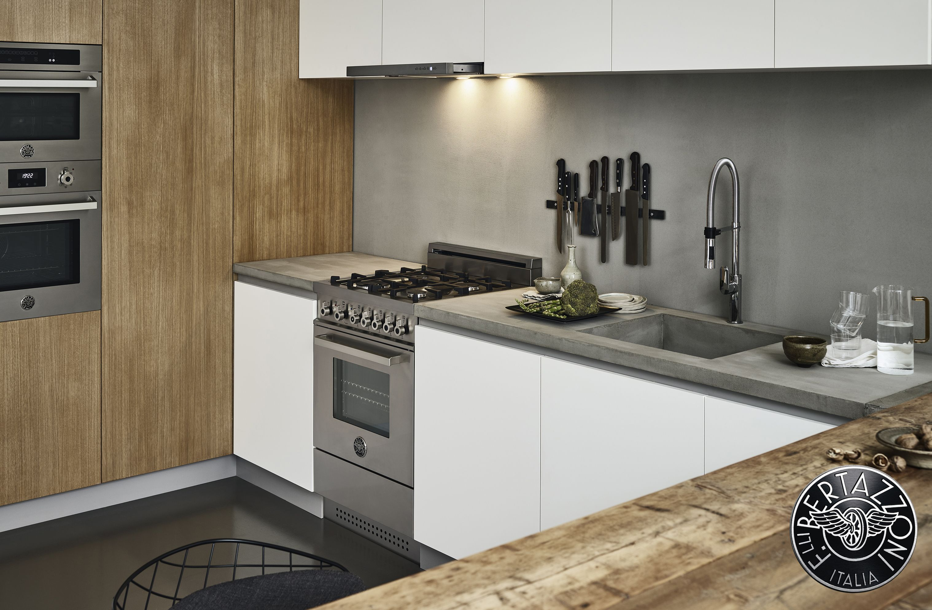 Find Inspiration For Your Next Contemporary Kitchen Renovation With Bertazzoni S New Profess Kitchen Suite Contemporary Kitchen Renovation Contemporary Kitchen
