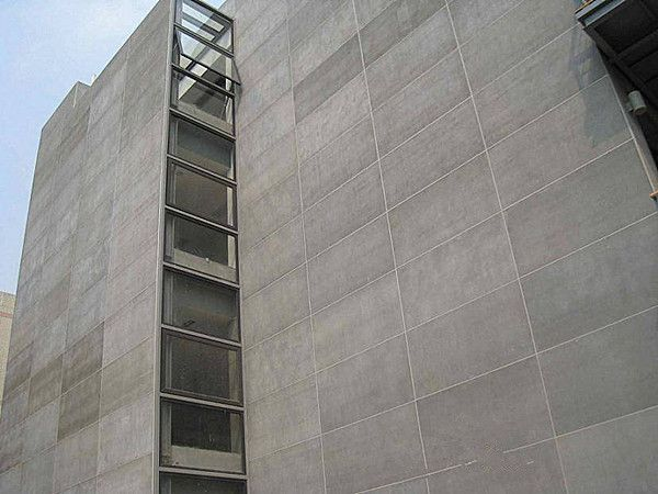 High Density Waterproof Cellulose Fiber Cement Board For Exterior Wall