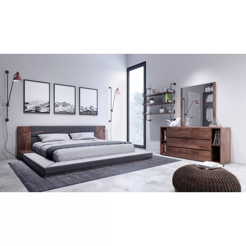 Defalco Platform 3 Piece Bedroom Set (With images