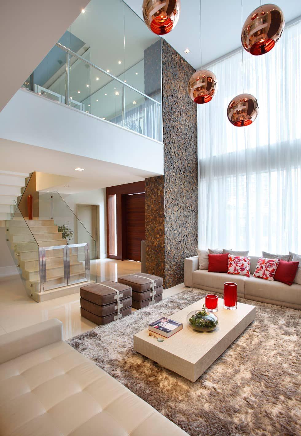 Sala de Estar: Salas de estar modernas por Arquitetura e Interior ...