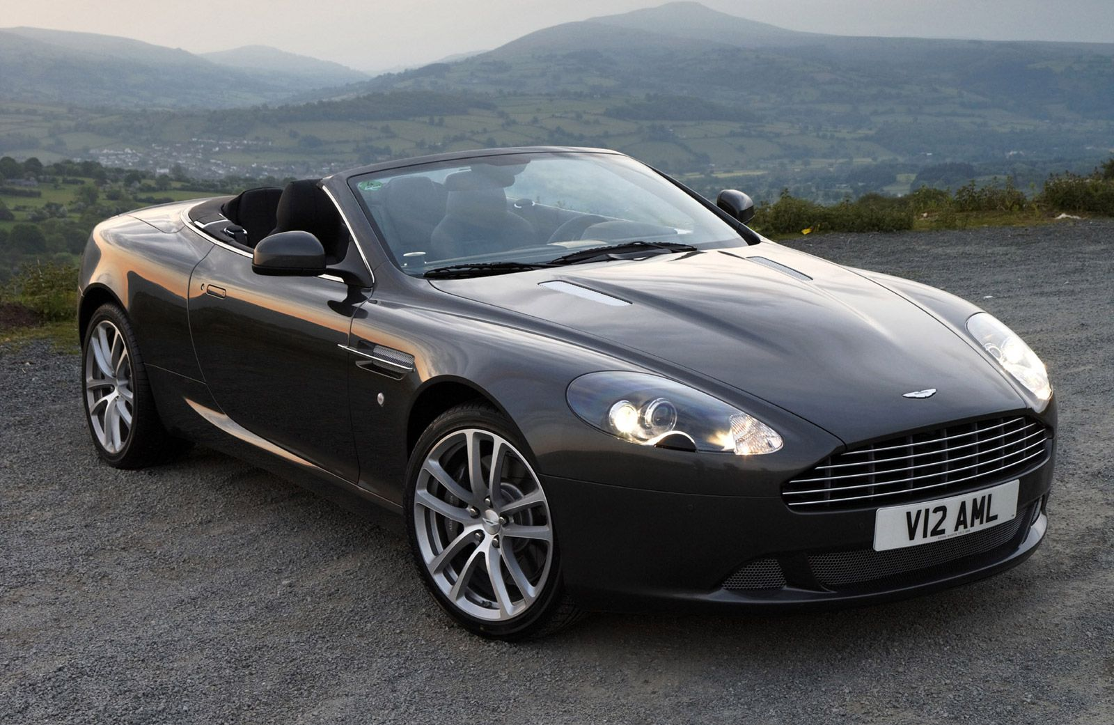 Dog Chews Owner's Aston Martin DB9, Gets Given Away