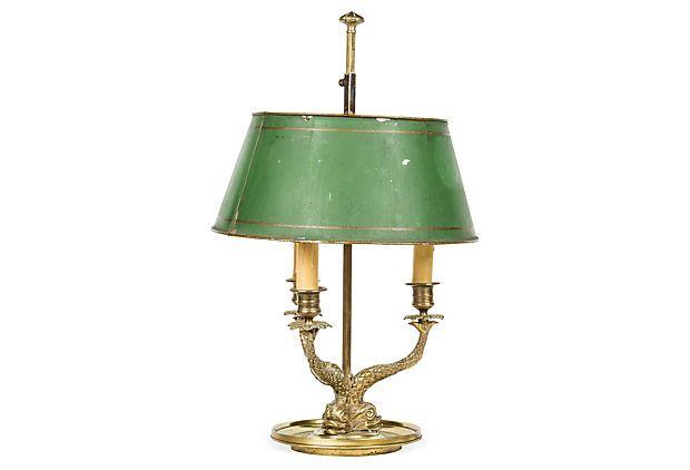 1940s French Bouillotte Lamp On Onekingslane Com Lamp Vintage Table Lamp Vintage Table