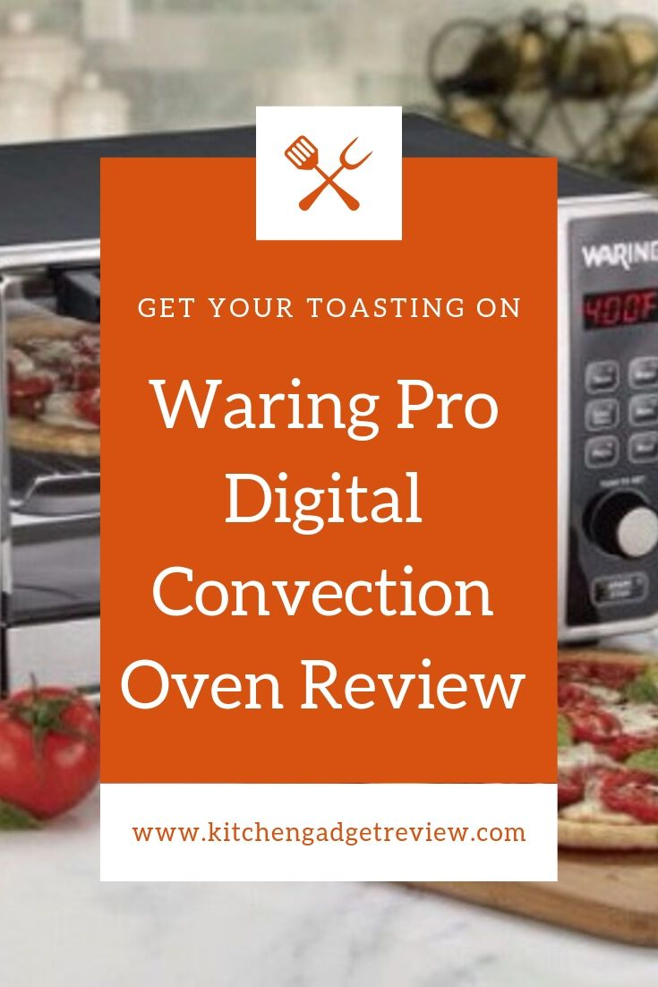 Waring Pro Digital Convection Oven Convection Oven Countertop