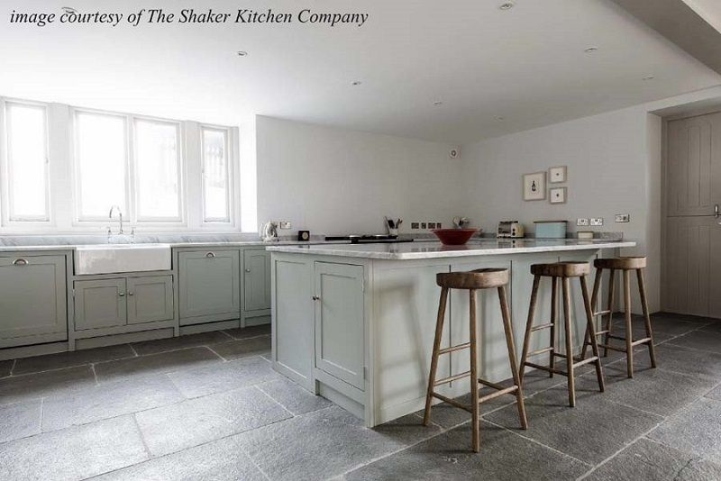 kitchen design grey colour. Here You Will Find Examples Of Quality Workmanship For Lighter Coloured  Shaker Kitchens These Are Some Our Most Recent Light Coloured Limestone Flagstones Pretty Much Timeless And This Kitchen Floor