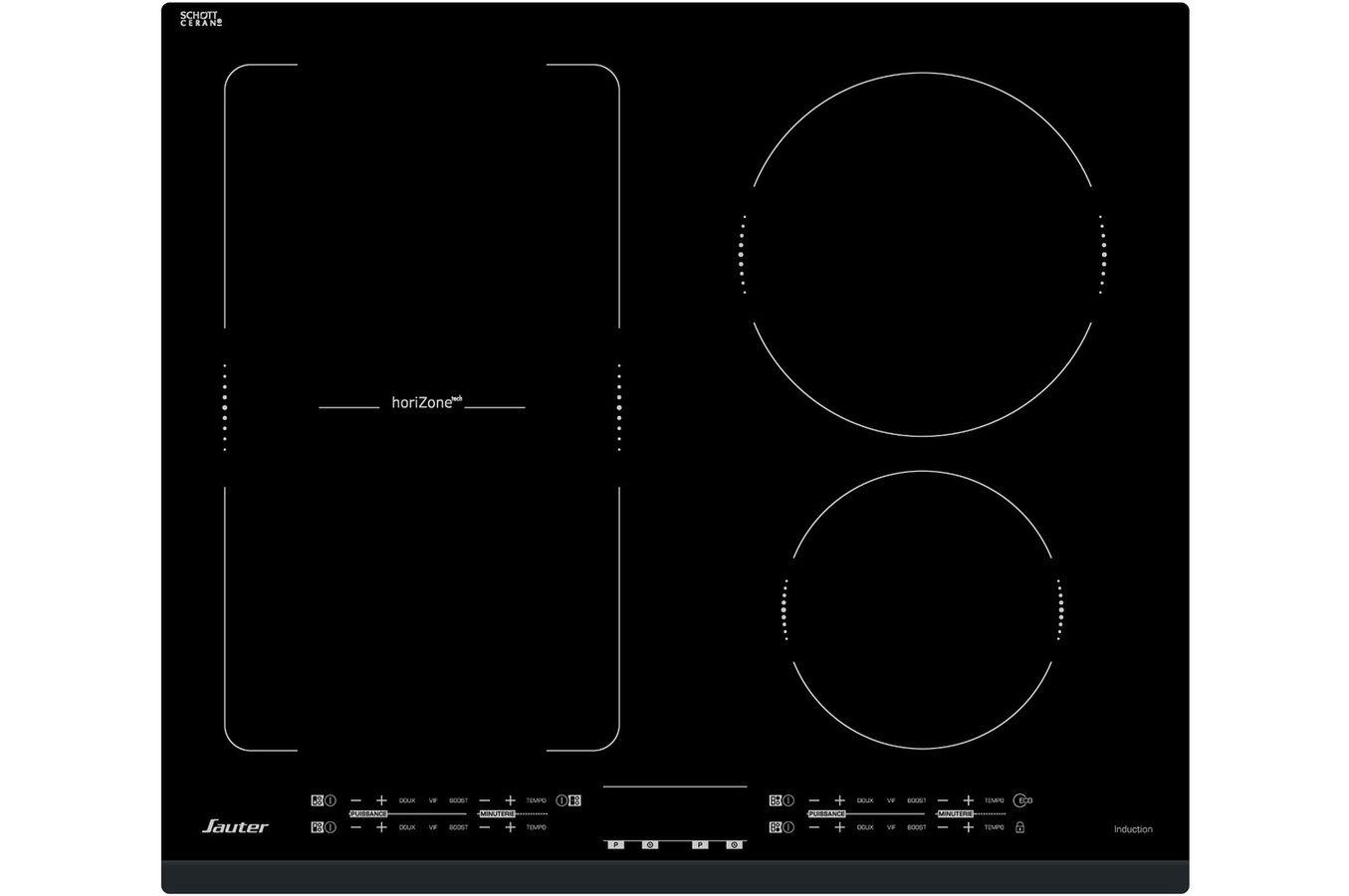Plaque Induction Sauter Spi4660b Plaque Induction Plaque De Cuisson Induction