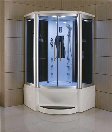 Eagle Bath 48 inches WS-609P Steam Shower Whirlpool Bathtub Combo ...