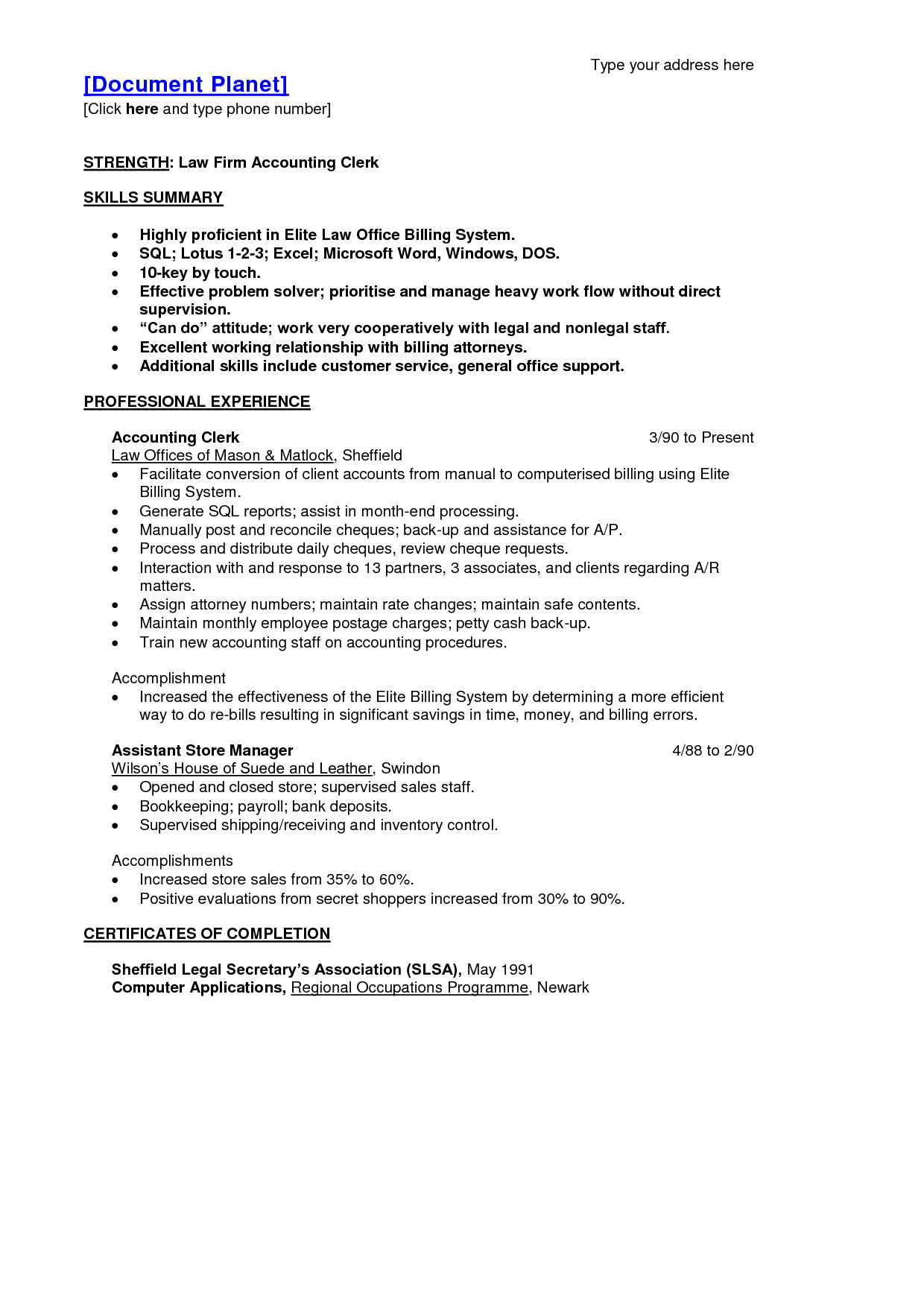 resume sample shipping receiving clerk within accountant example templat warehouse - Arehouse Resume Sample