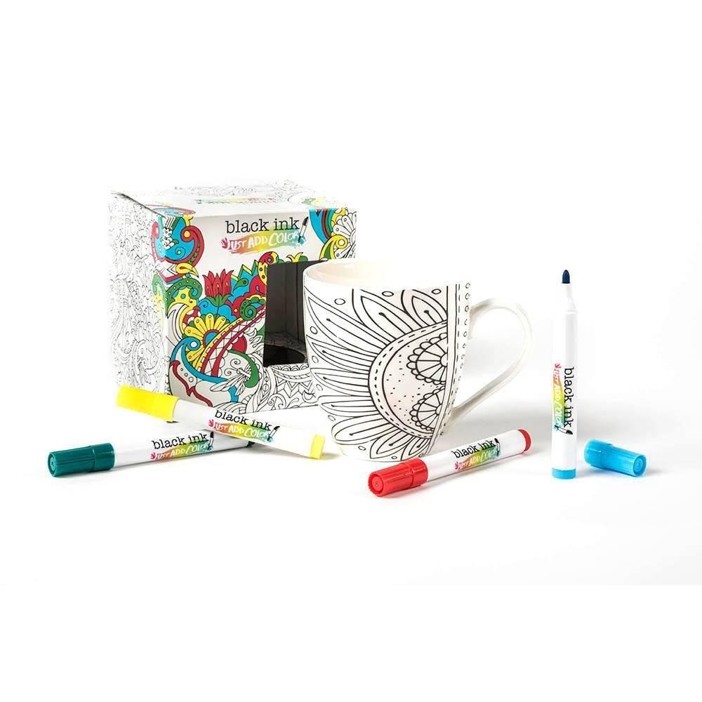Taza de Cerámica para Colorear | Pinterest | Walmart, Colorear y ...