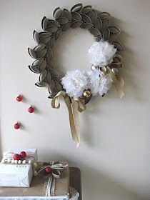 This wreath is beautiful yet thrifty. I think you could make it work for any season.