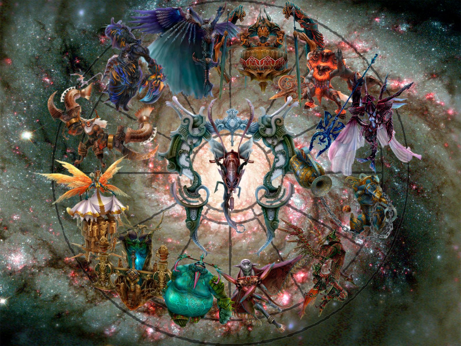 Free Wallpapers With Images Final Fantasy Xii Astrology Art