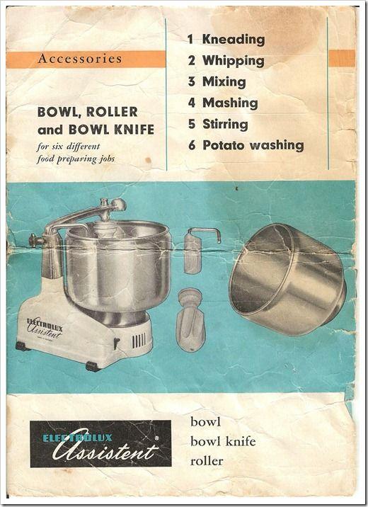 electrolux assistent manual mixer stuff pinterest food rh pinterest com Electrolux Mixer 10 Quart Electrolux Hand Mixer