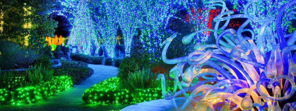 Garden Lights, Holiday Nights Atlanta Botanical Garden