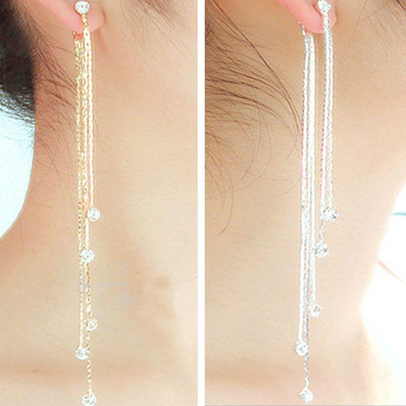 Online Get Silver Chain Earrings